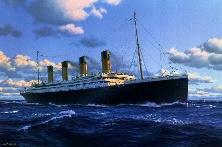 RMS Titanic Ship