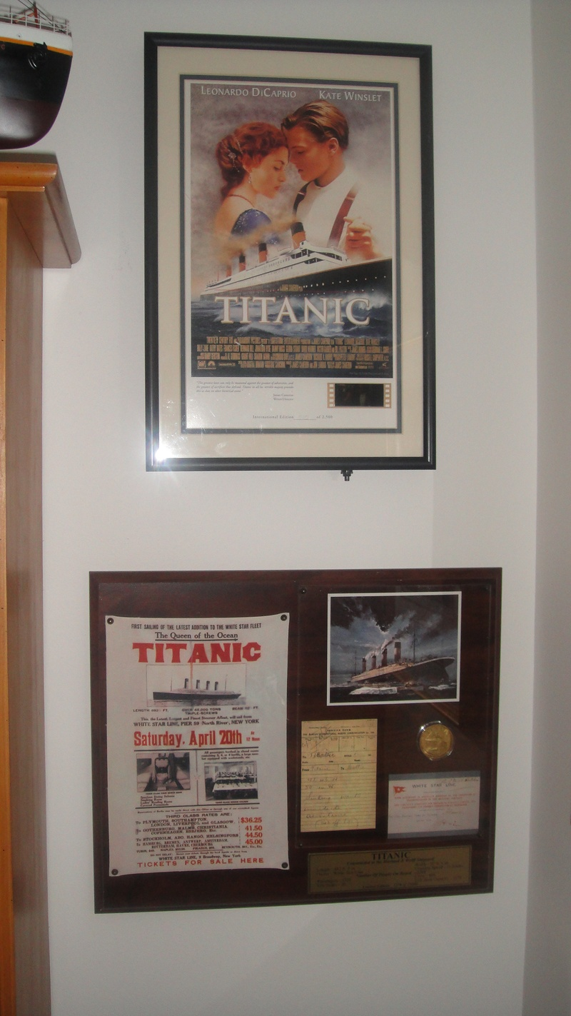 Titanic Movie Ltd Edition Framed Film Cell 2